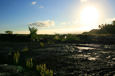 Kaimu Black Sand Beach, Kalapana, Puna Coast