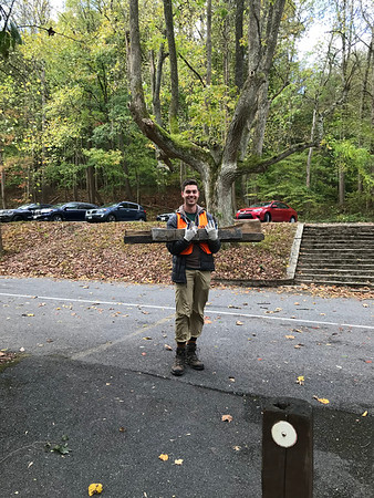 10.17.2019 Patapsco River Cleanup at Orange Grove/Grist Mill Trail with Coldwell Bankers