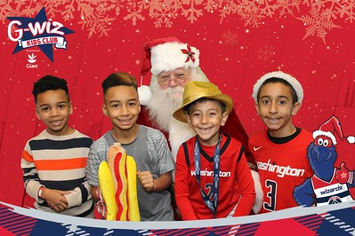 Washington Wizards G-Wiz Kids Club Holiday Party: 12/23/2017