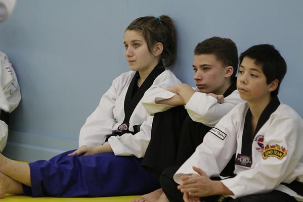 Taekwondo Test 2-12-11