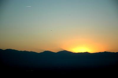 Salt Lake City Sunset - September 2006
