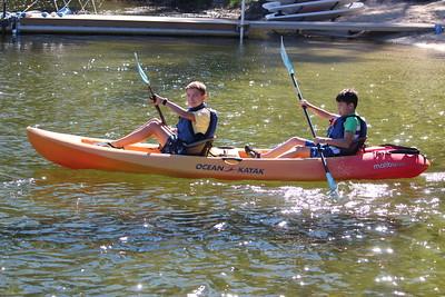 MS 7th Kayaking 9-23-21