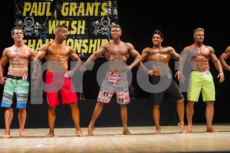 Men's Physique Over 178cm