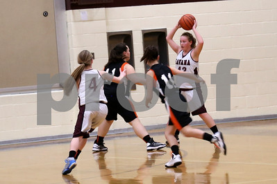 HJHS 8th Grade Night Girls Basketball