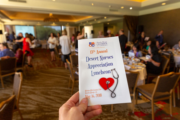 Rancho Mirage Chamber Nurses Appreciation Lunch 2018