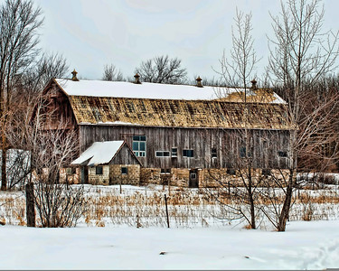Old Barns and Farm Equipment