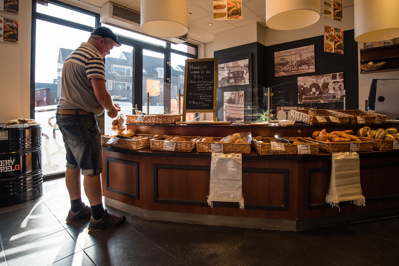Day 2 - bakery in Swalmen, July 5th