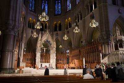 Fr. Benedict Groeschel - Funeral