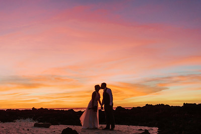 Aaron and Sarah // Kona Wedding