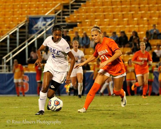 Duke vs UVA 2017 ACC Women's Soccer Championship Semifinals