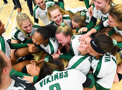 11-9-2017 - Sunnyslope vs. Queen Creek (AIA 5A Final - Intros & Awards Photos) Volleyball Championship