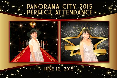 Panorama City 2015 Perfect Attendance