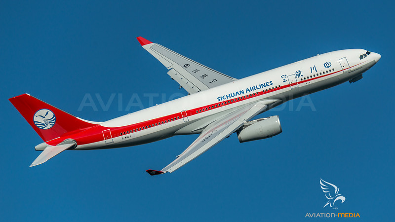 Sichuan Airlines / Airbus A330-243 / F-WWCJ (to be B-8962)