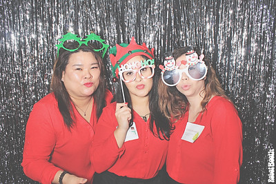 12-17-19 Atlanta Maggiano's Photo Booth - Fogelman Holiday Luncheon - Robot Booth