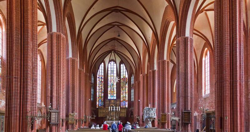 Werben, Johanniskirche, Innenraum nach Osten