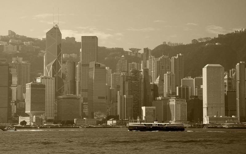 Vintage Hong Kong: Victoria Harbour