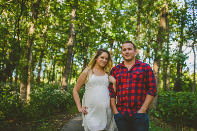 Veronica + Dillon Maternity