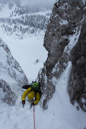 03 26 Rozic gully in Begunjscica