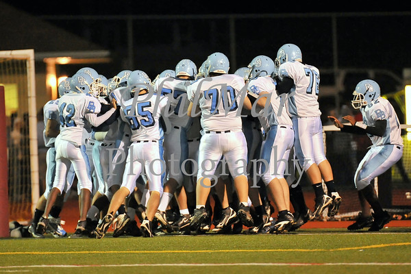Governor Mifflin VS Daniel Boone High School Football 2010 - 2011