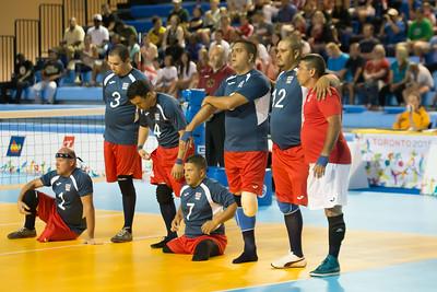 Sitting Volleyball, Canada vs Cuba