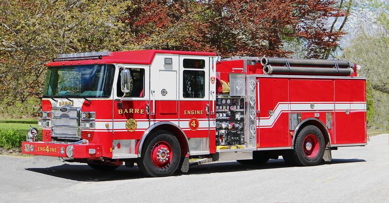 Engine 4   2019 Pierce Enforcer.  1500 / 1000