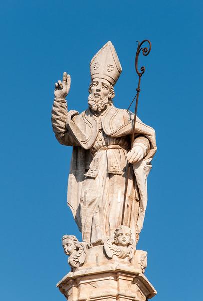 Column of St. Oronzo, Ostuni, Italy