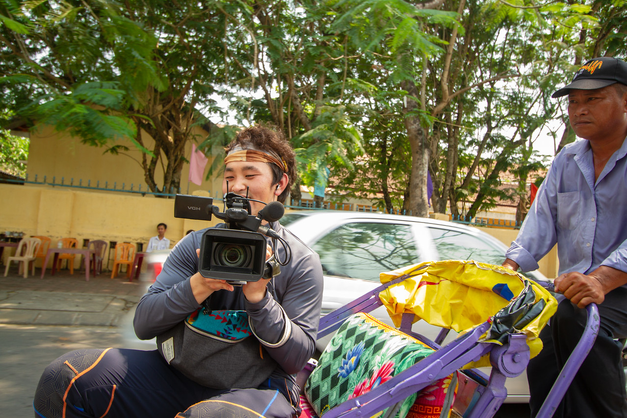 One of My Cameramen in Vietnam