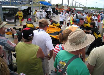 Iowa Corn Indy 250 Race, June 2010