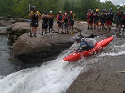 2009-07-26 Valley Falls, Hilton Creeking Clinic