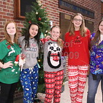 hs campus 'ugly sweater jean day' . 12.5.18