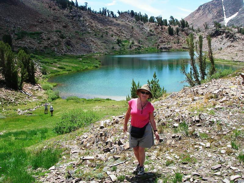 Humingbird Lake (3.120m or 10,237ft)