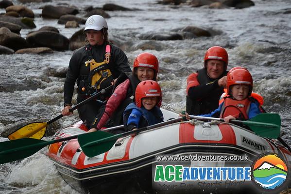 3rd of August 2013 Family Rafting & Canoe/kayak