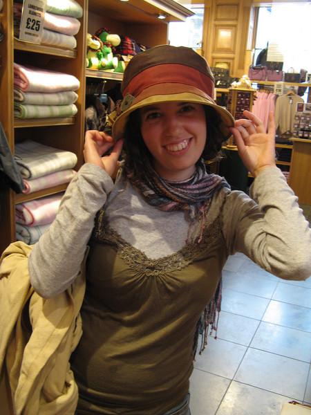 A suitable hat!
