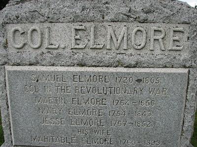 Samuel Elmore Grave