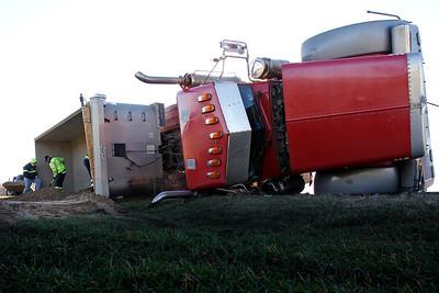 20151119 - Overturned Truck (MA)