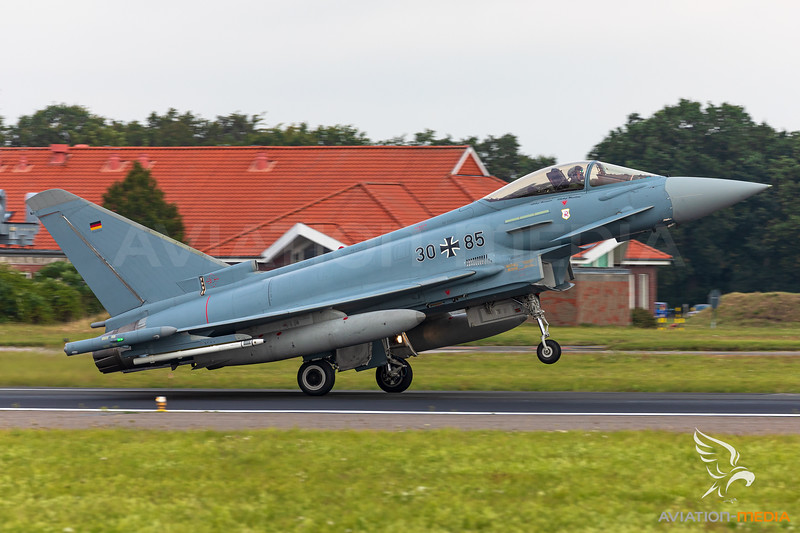 Germany - Air Force / Eurofighter Typhoon EF2000 / 30+85