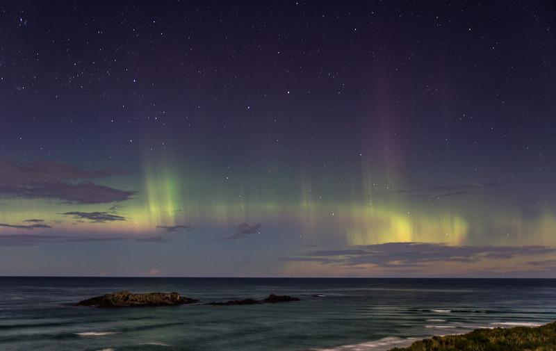 Moonlit Aurora Australis 1