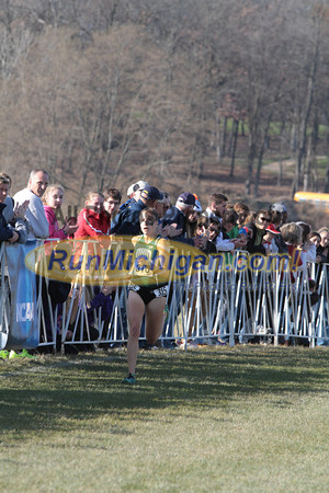 Women's Finish - 2013 NCAA Division I Great Lakes Region Cross Country Championships