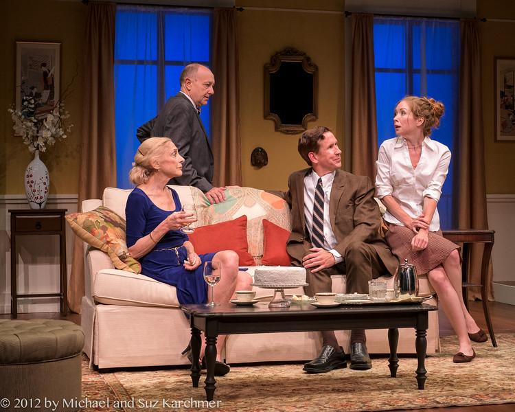 "Scene from Wellfleet Harbor Actors Theater 2012 Production of ""Saving Kitty"", Wellfleet, MA (Photo Credit: Michael and Suz Karchmer)."