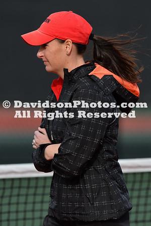 2016 Women's Tennis vs Western Carolina
