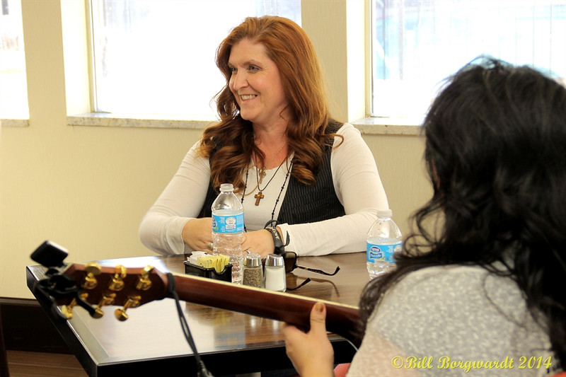 Rylee Madison conducts a songwriting workshop