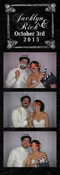 Jacklyn and Ricky's Blowout Wedding Photobooth