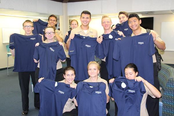Seniors Get Alumni Shirts