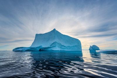 Greenland, Icebergs & Abstracted Decay