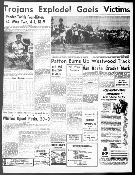 Daily Trojan, Vol. 40, No. 135, May 09, 1949