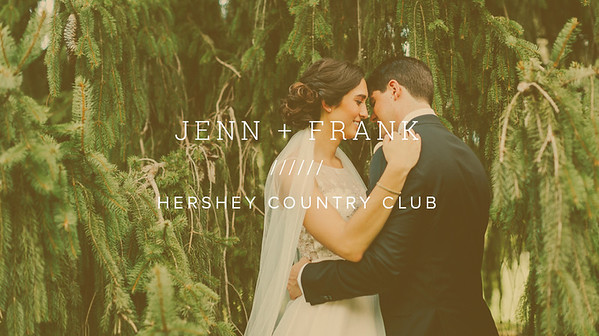 JENN + FRANK ////// HERSHEY COUNTRY CLUB