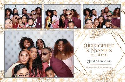 8/16/20 - Christopher & Nyambi Wedding