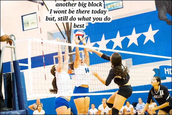 Mac JV volley ball VS south san