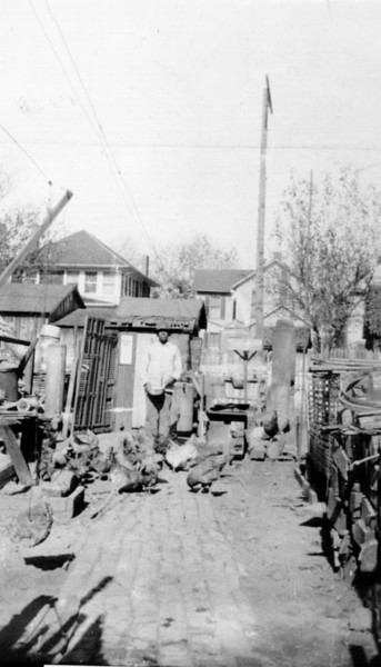 1910, Backyard Chicken Coop