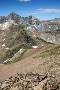 14,042' Mount Lindsey, Sangre de Cristo Range, CO
